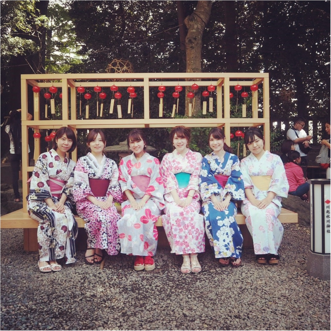 ♡夏にやり残したことはないですか??まだ間に合う!夏らしさを感じるなら川越の◯◯神社へ♡_2
