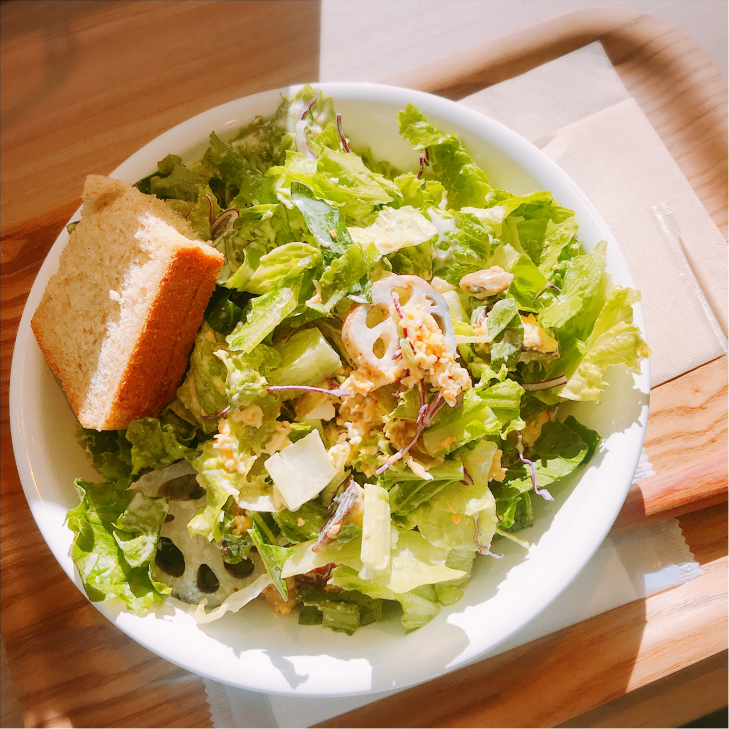 食物繊維たっぷり♡【With Green】の秋限定サラダボウルでヘルシーランチ!_4