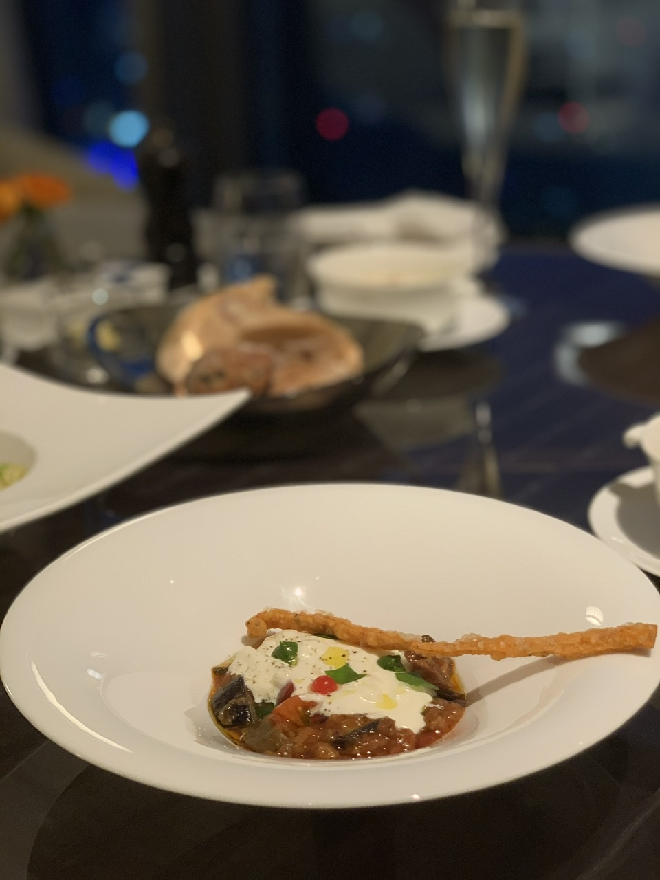 茄子のパルミジャーナと 自家製ストラッチャテッラチーズ 前菜