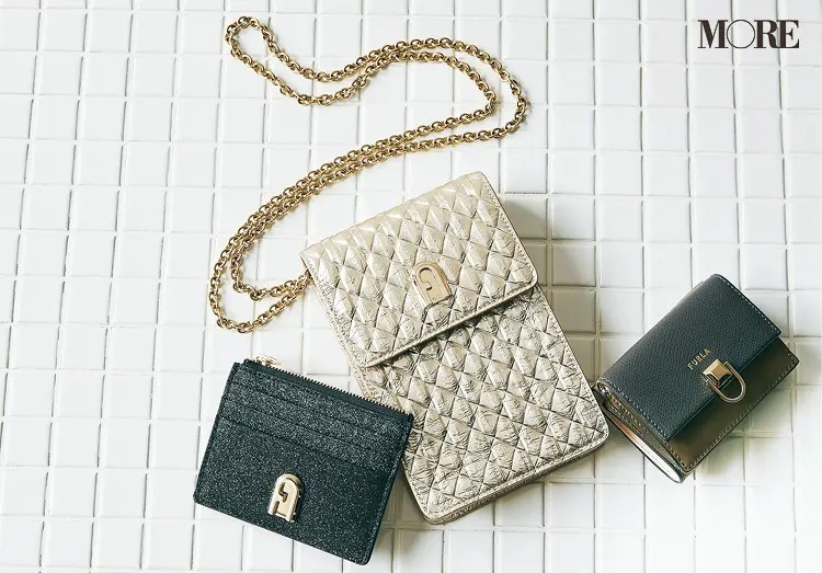 フルラのミニ財布、スマホケース、カードケース