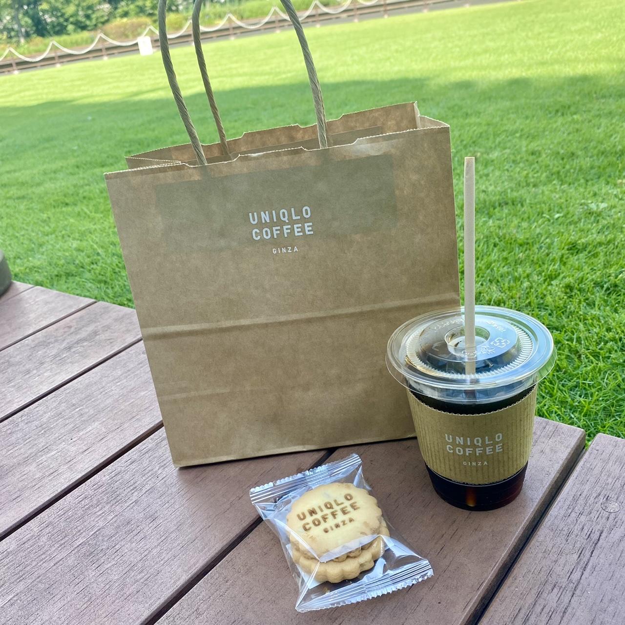 【UNIQLO銀座店】ユニクロにカフェ!?今話題の《ユニクロコーヒー》を飲んでみた♡_6