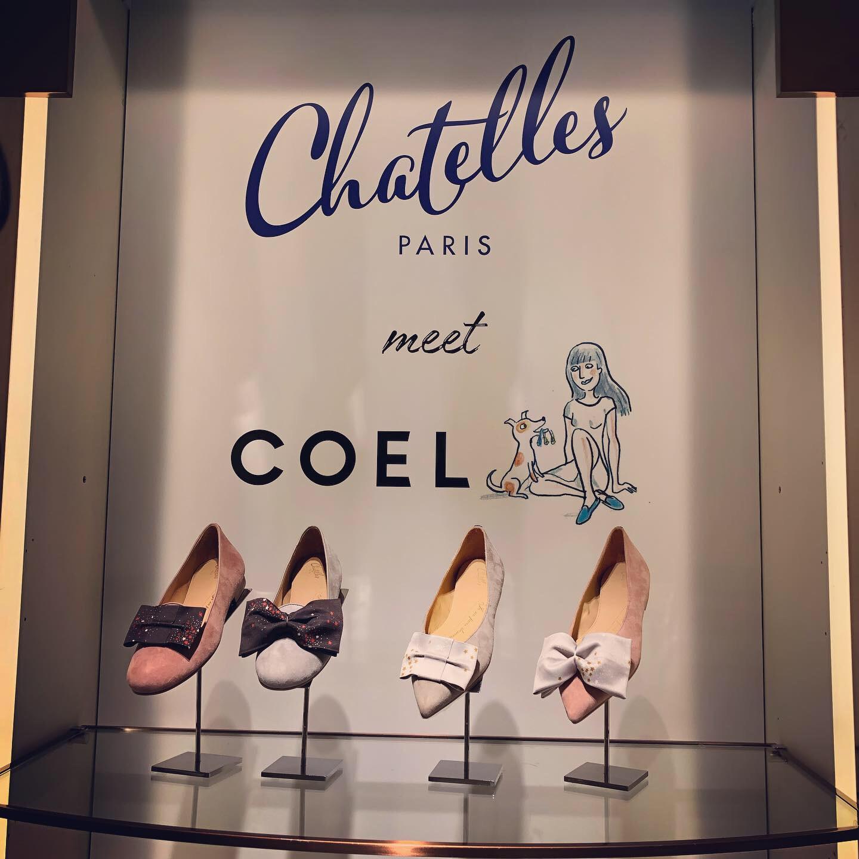憧れのモデル*ヨンアちゃんディレクションの「COEL」とシューズブランド「シャテル」がコラボ!「Chatelles meet COEL」が最高にかわいすぎる♡_1