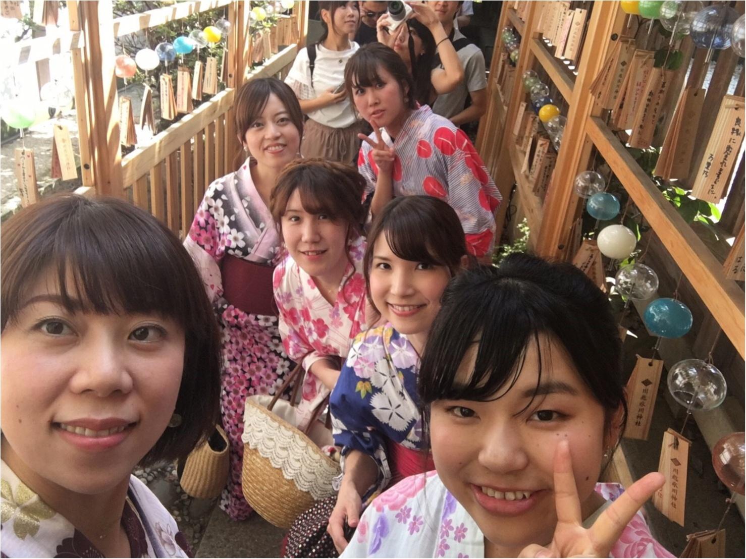 ♡夏にやり残したことはないですか??まだ間に合う!夏らしさを感じるなら川越の◯◯神社へ♡_6