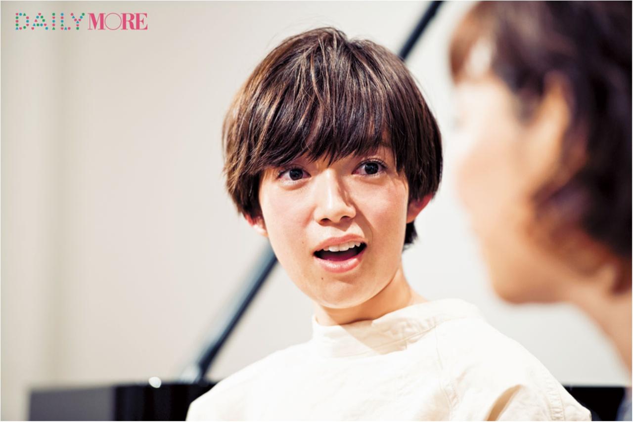 あこがれの清水ミチコさんとのスペシャルすぎるレッスンが始まった!【#モアチャレ 佐藤栞里のモノマネチャレンジ!】_3