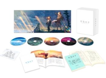 『天気の子』Blu-ray&DVDがついに発売!コレクターズ・エディションには描き下ろしイラストやビジュアルコメンタリーも収録☆