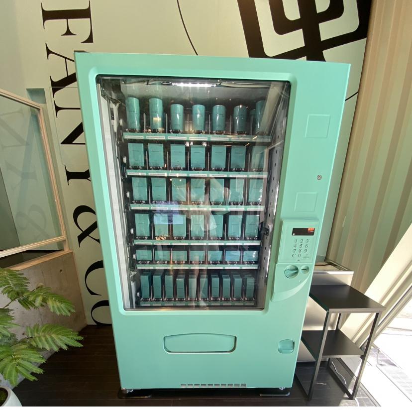 ティファニー キャットストリート フレグランス 自動販売機