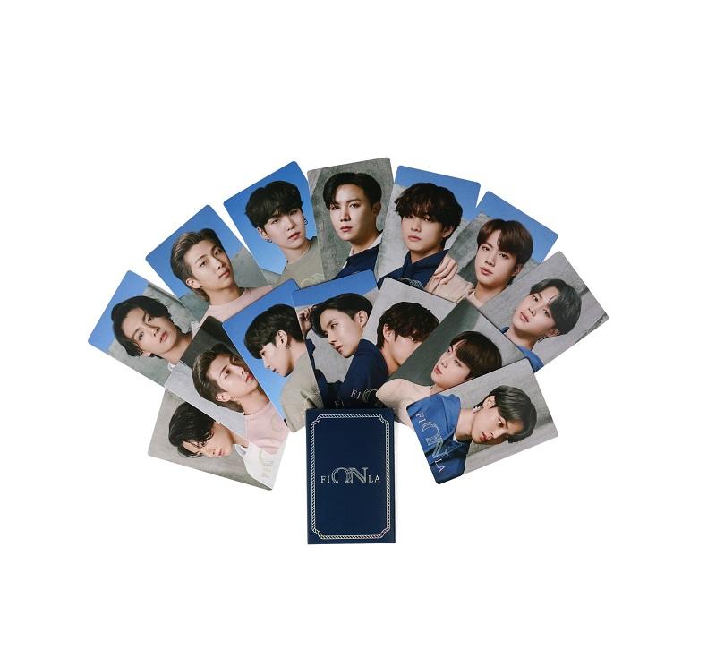 BTS×FILAのコラボ「Now ON」ノベルティのポストカード