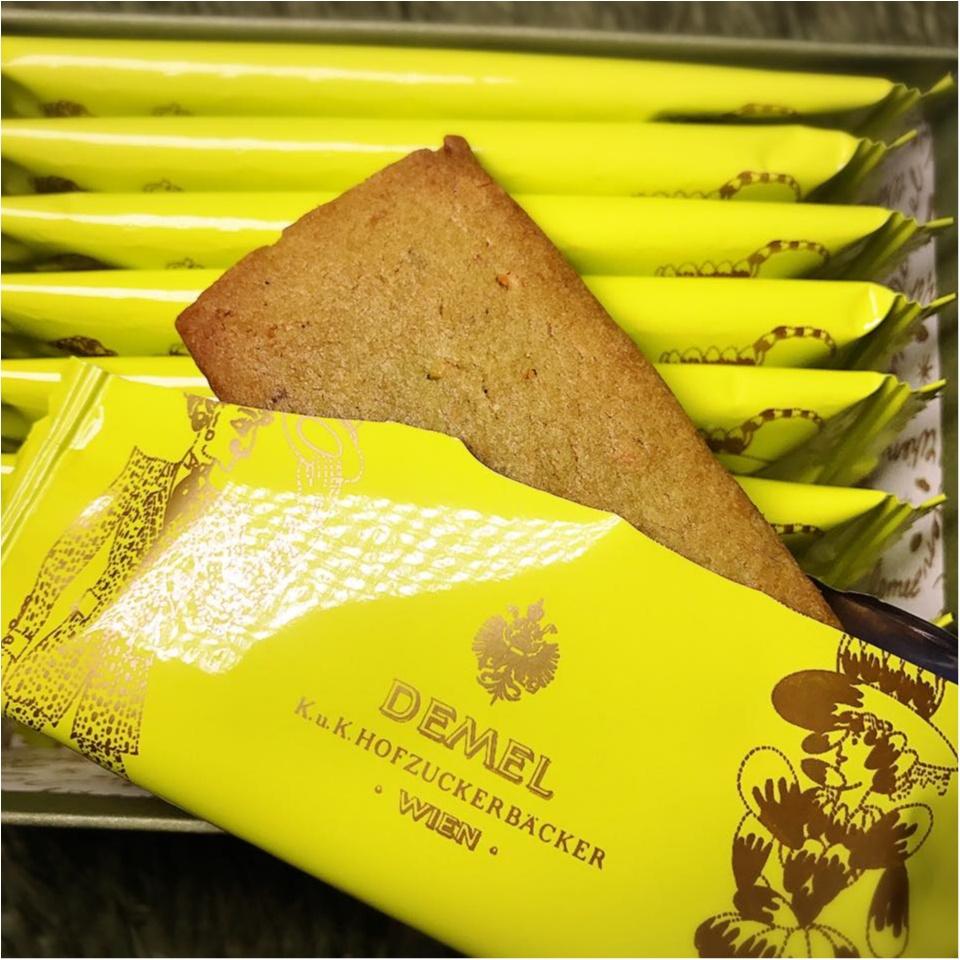チョコレートだけじゃない!≪デメル≫はクッキーも可愛いし、おいしい!_2