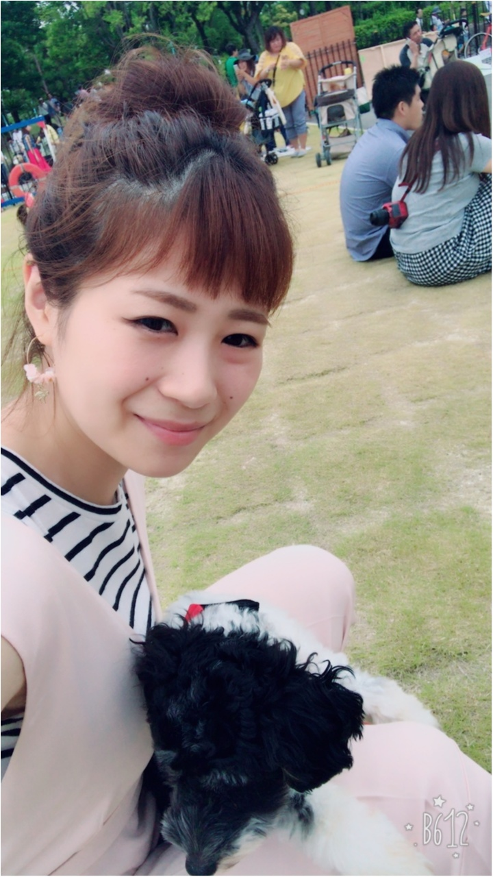 【コーデ】きれいめカジュアルコーデで愛犬とわんこマルシェへ♡_2