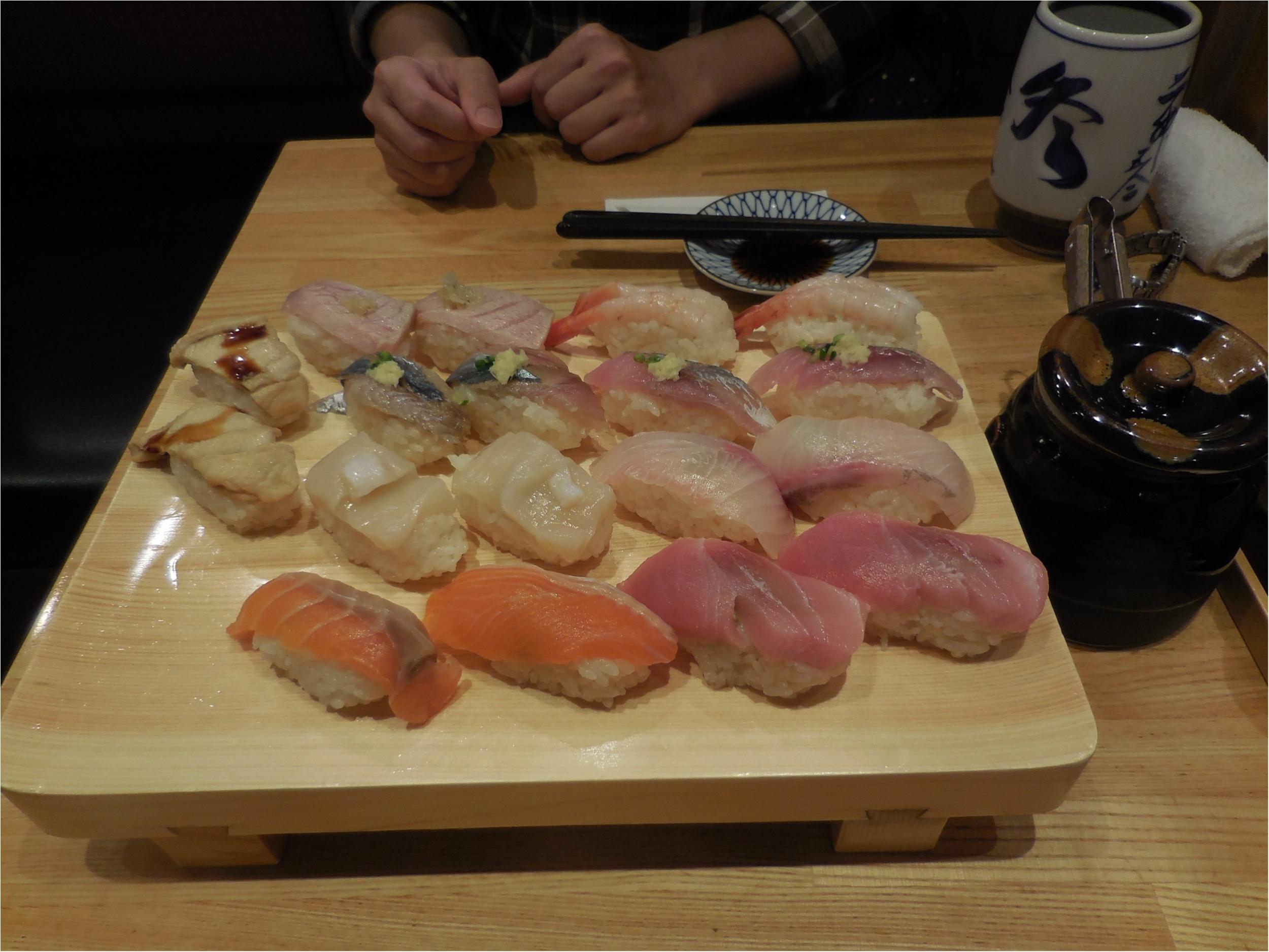 【築地玉寿司】高級寿司の食べ放題へ2回目行ってきました_1