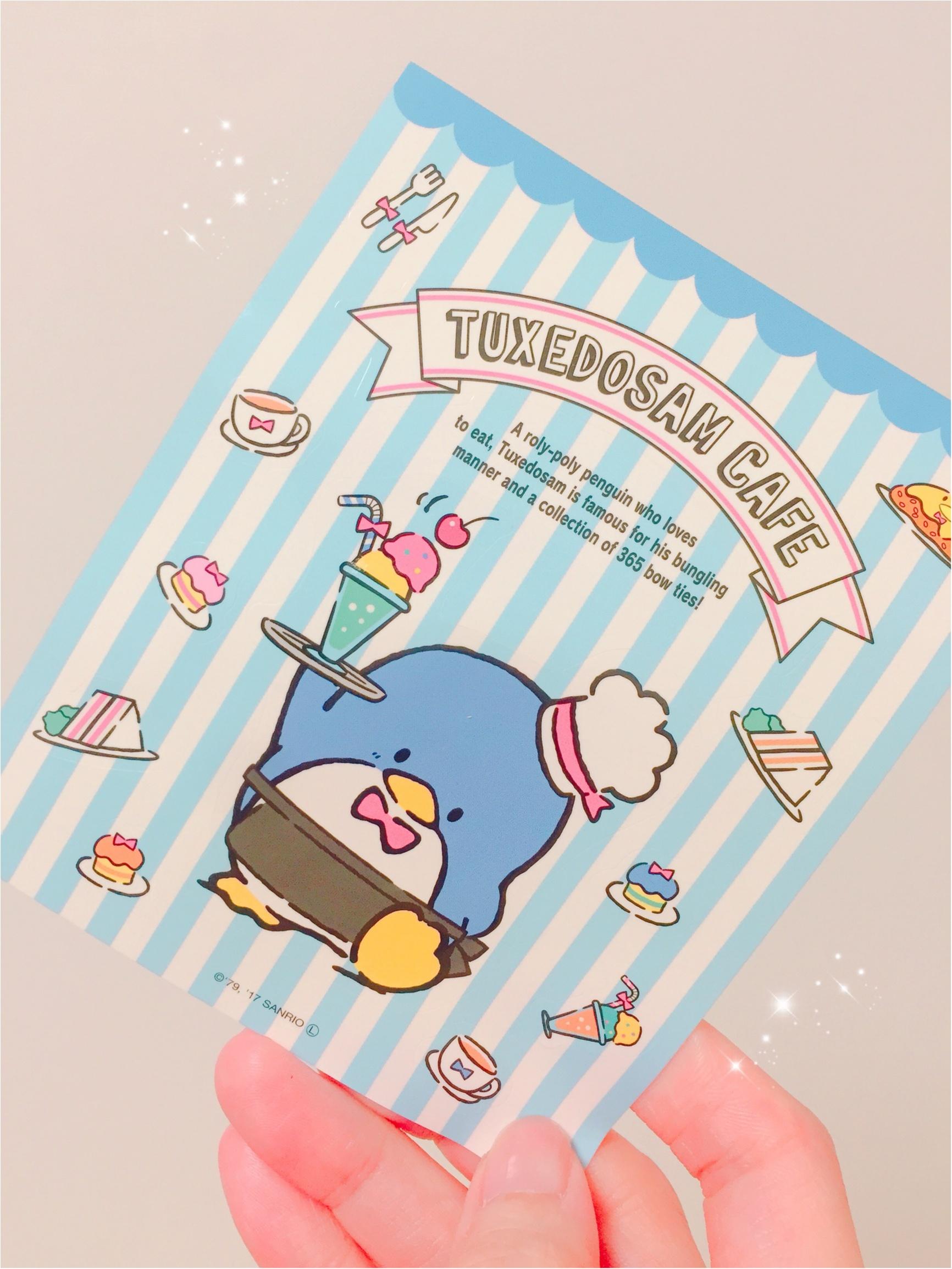 懐かしサンリオキャラがアツい!タキシードサムカフェが渋谷ヒカリエに期間限定オープン中♪_7