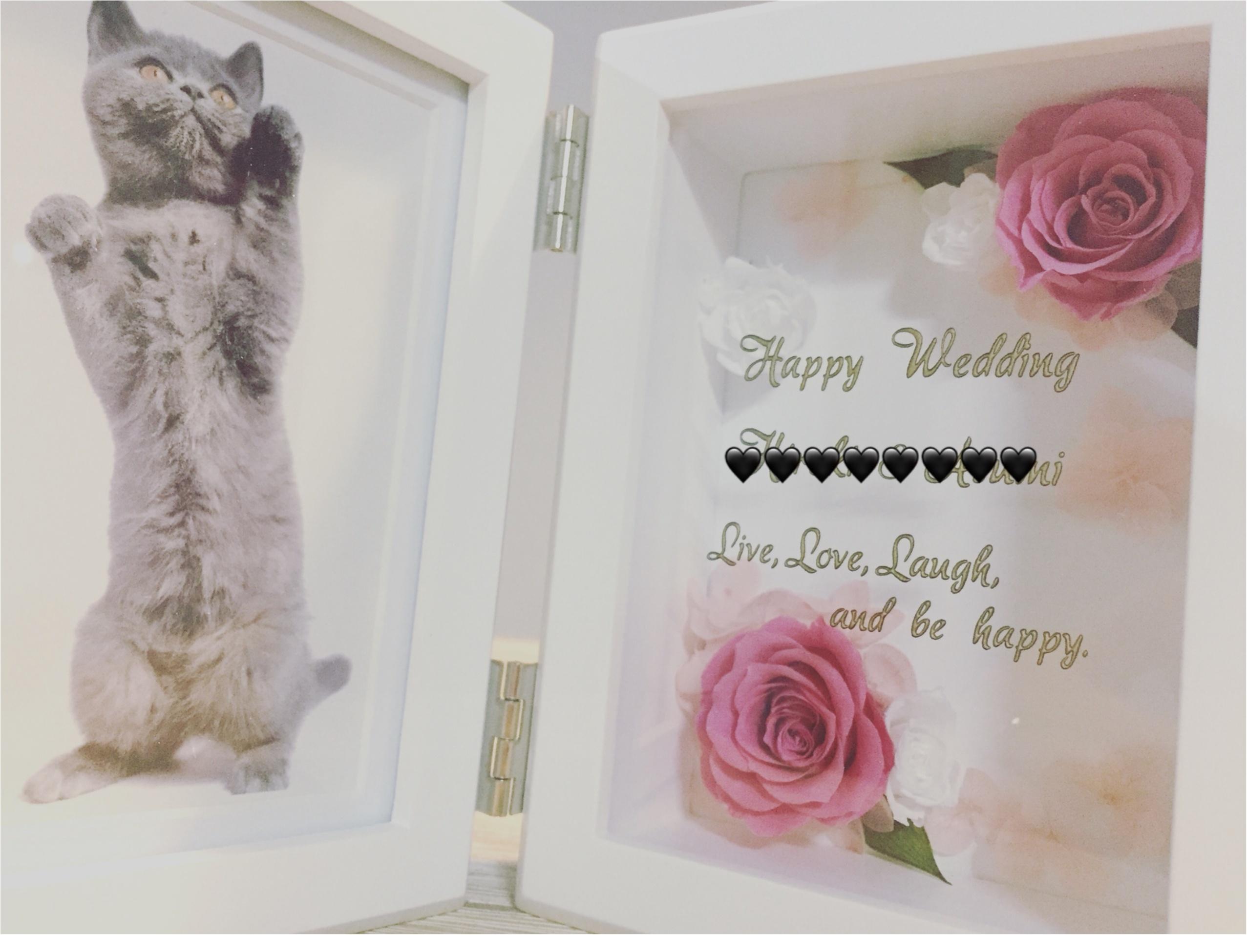 ❤︎結婚祝いにはコレがおススメ❤︎枯れない花で『末長い幸せ』を願う気持ちを贈ろう!_1