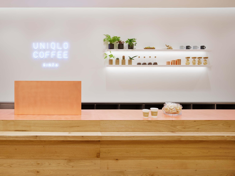 ユニクロ銀座店にオープンしたユニクロコーヒー