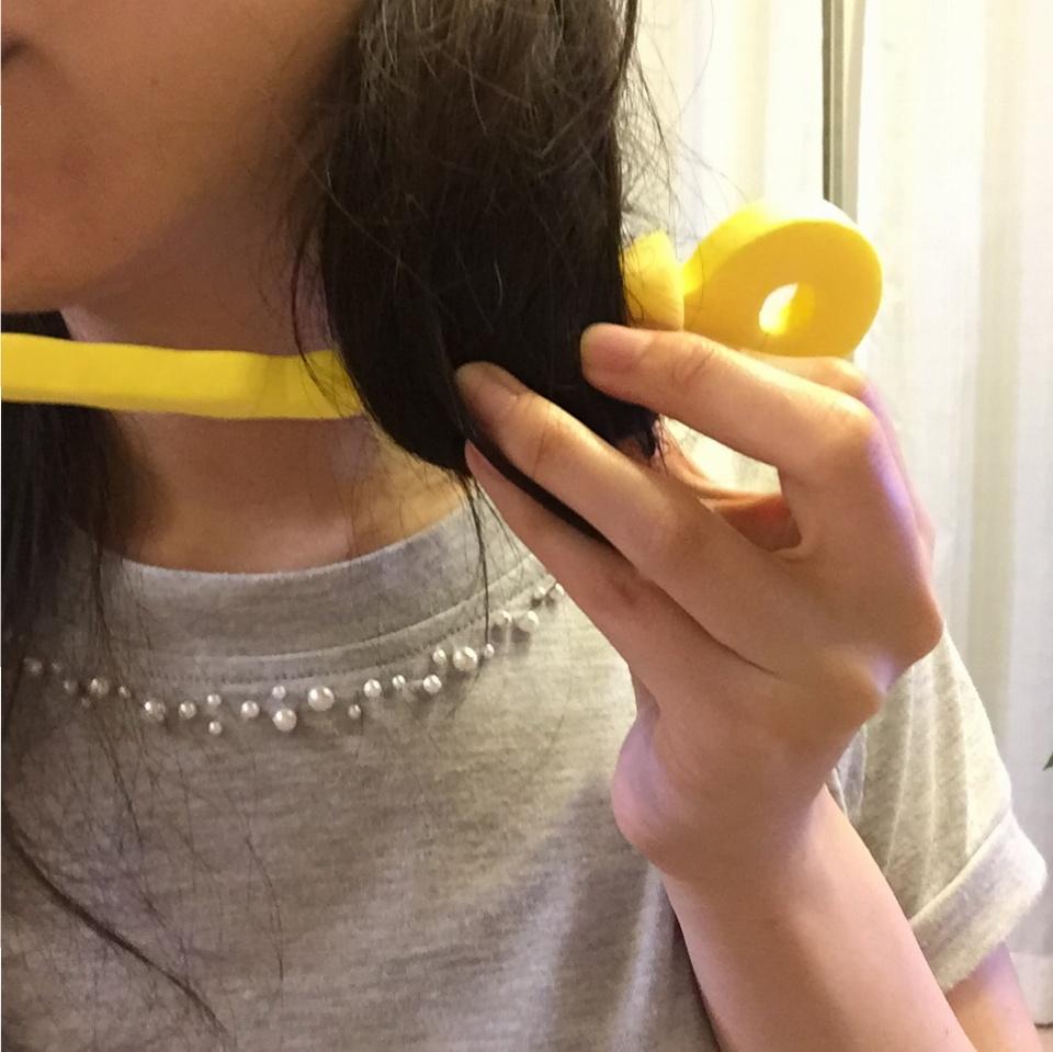 髪を傷めず♡ふわふわカールヘア♡になる方法って知ってる?しかも100均アイテム!_4