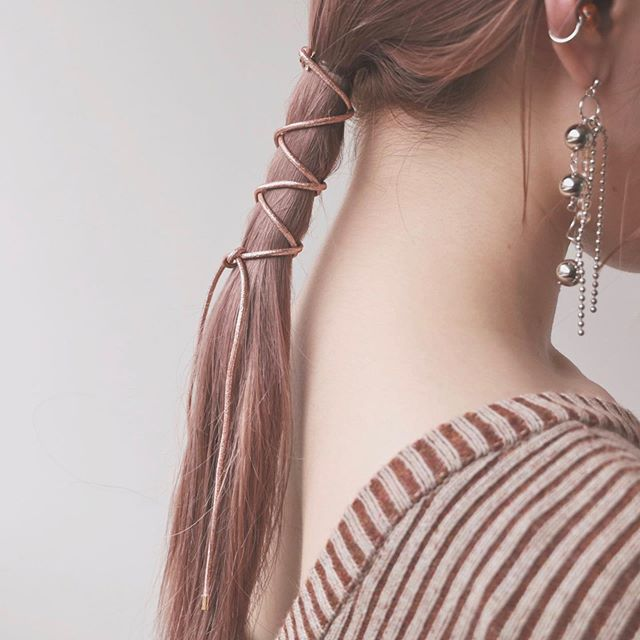 Premiumインフルエンサーズのインスタ拝見! カヤノさんは、自作のヘアアクセサリーでヘアアレンジをエンジョイ♡_1