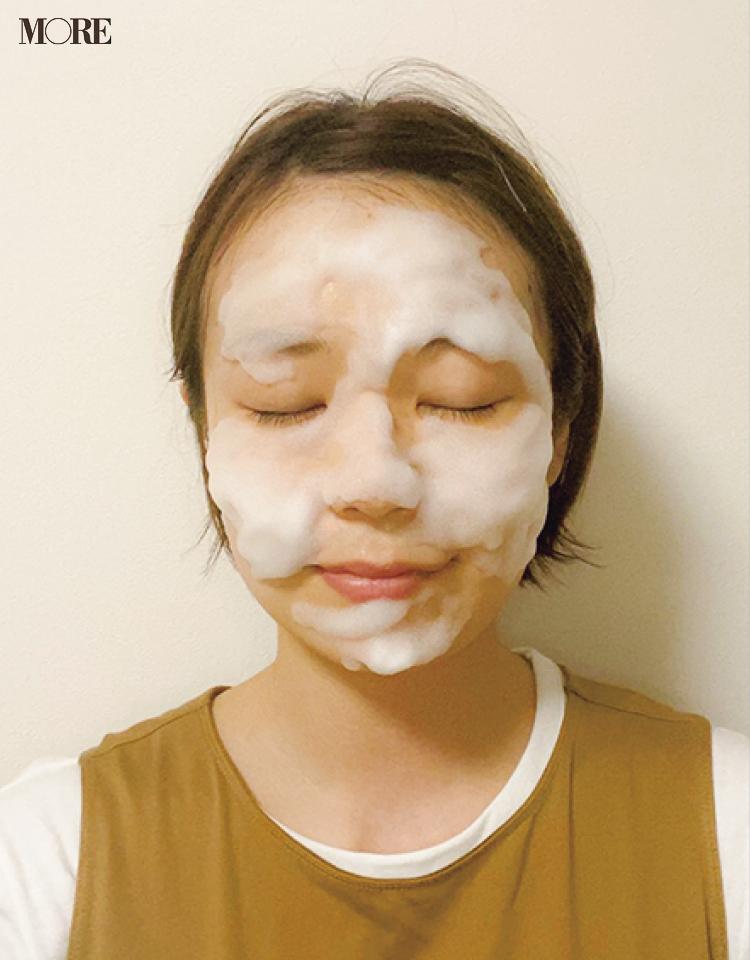 毛穴の黒ずみやざらつきに効果的なのは酵素洗顔、スクラブ、クレイ。美容家おすすめの酵素洗顔のやり方や、すすぎ残しチェックのしかたも伝授します_4