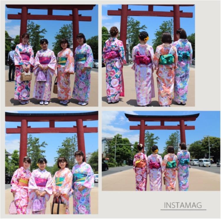 ♡【モアハピ女子会】着物レンタルは5名以上がお得!!可愛く鎌倉散策しちゃいましょう♡_1