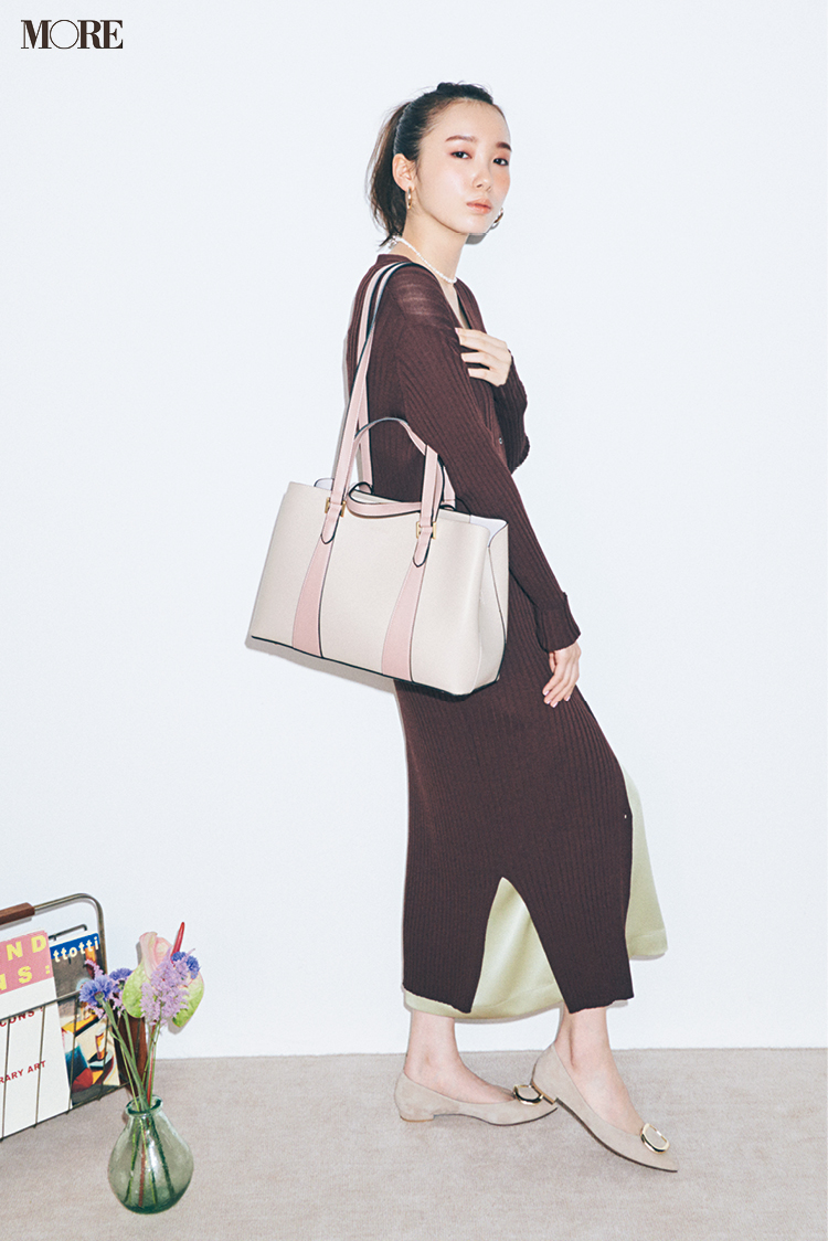 通勤バッグをお探しの皆様、新しいきれい色「くすみパステル」のバッグはいかがですか?_1