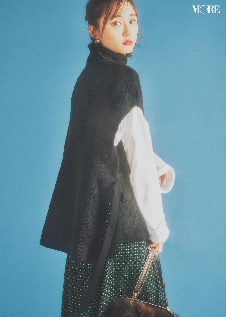 【2020年版】冬ファッションのトレンド特集 - 20代女性の冬コーデにおすすめのニットベストなど最旬アイテム・カラー・柄まとめ_7