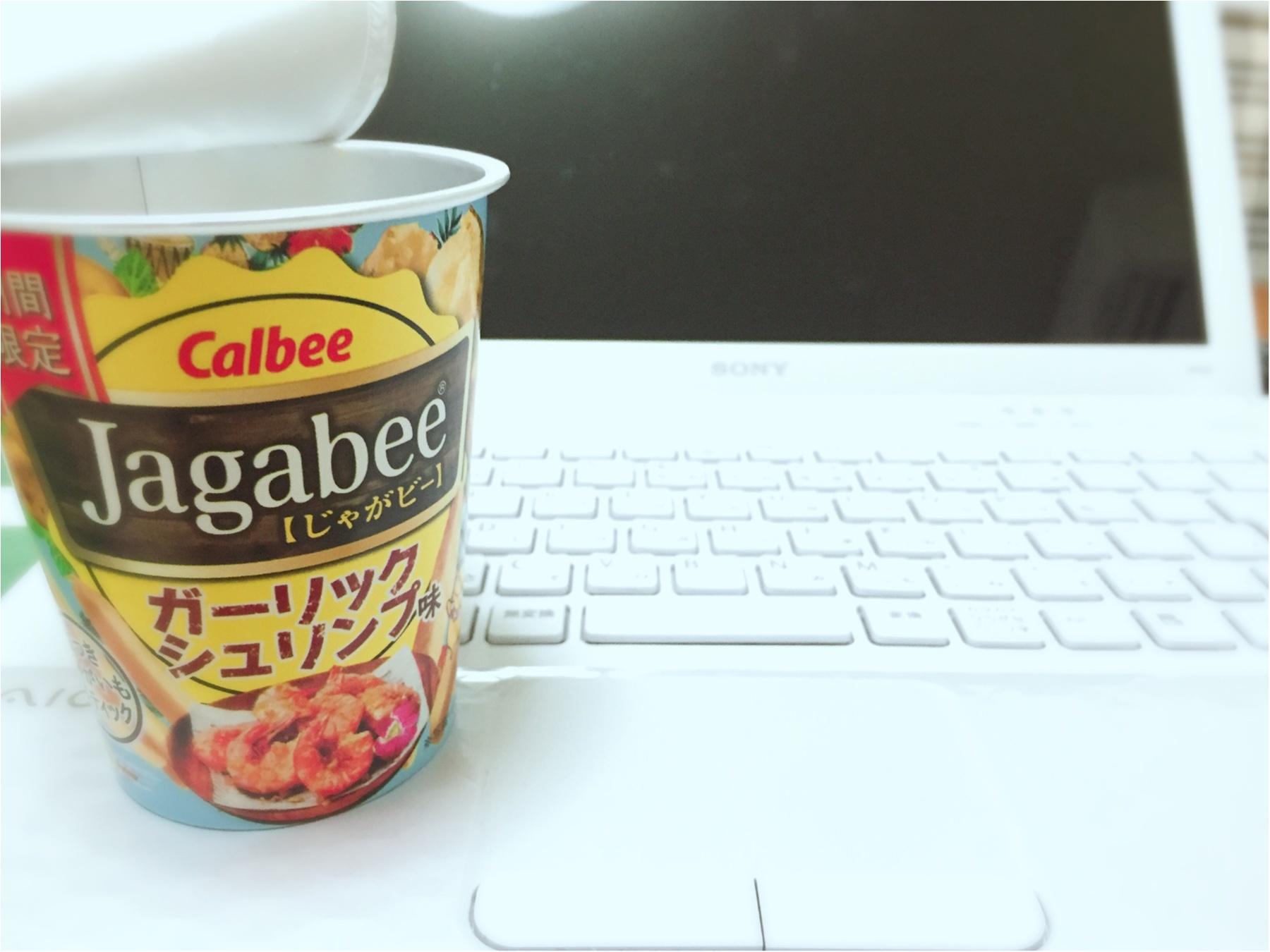 …ஐ 【期間限定Jagabee】ガーリックシュリンプ味がハマる♡ ஐ¨_2