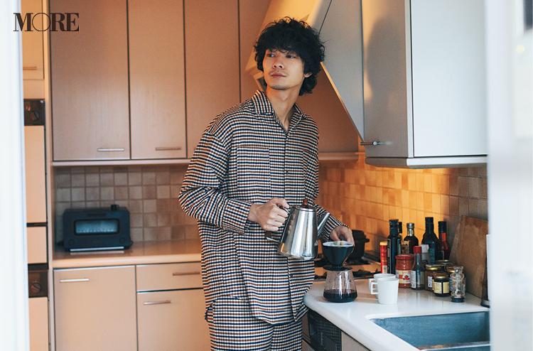 清原 翔が『ジェラート ピケ』の新作を着てみたら……♡【コーヒー好き男子編】_2