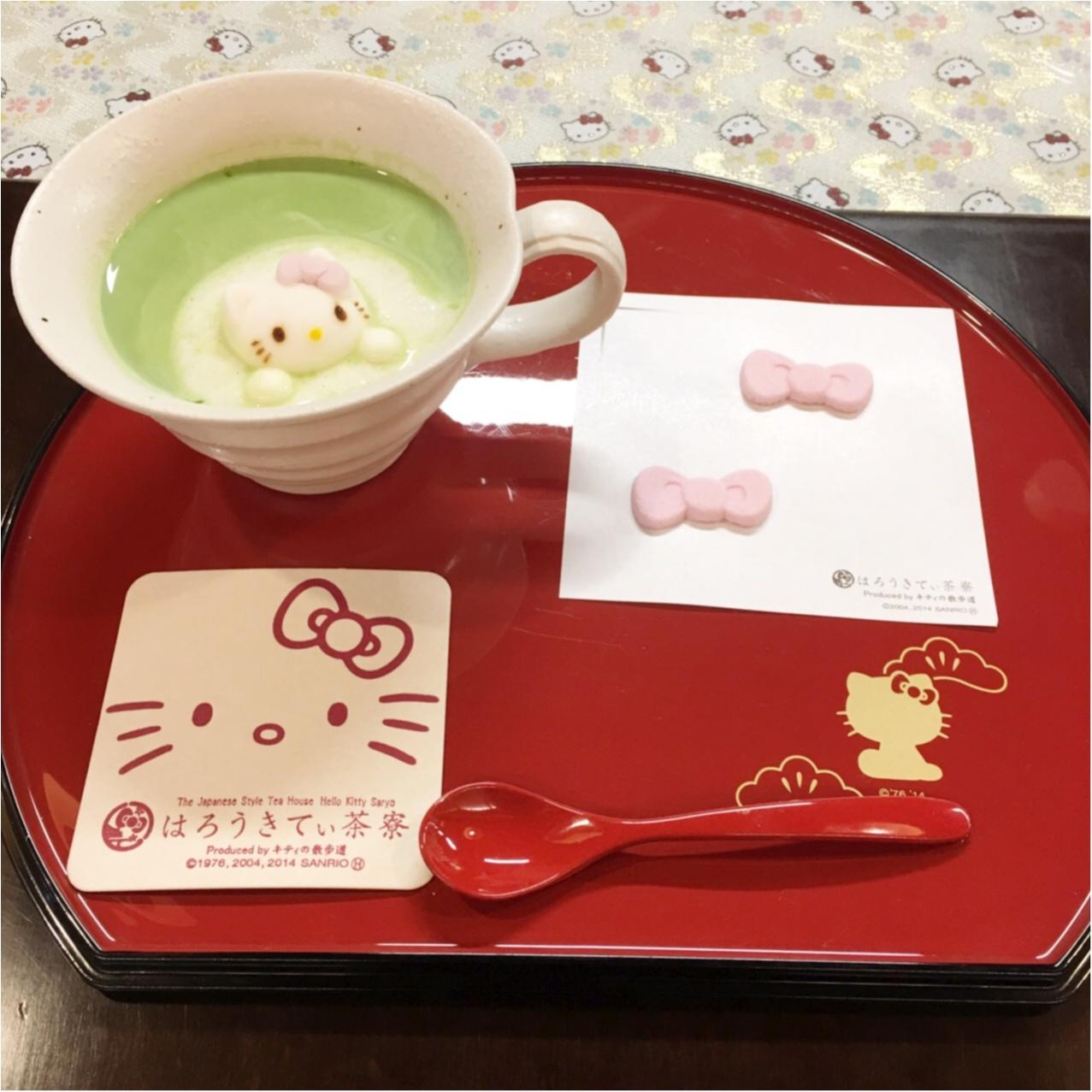 京都に行ったら行きたい♡キティづくしの『はろうきてぃ茶寮』_7
