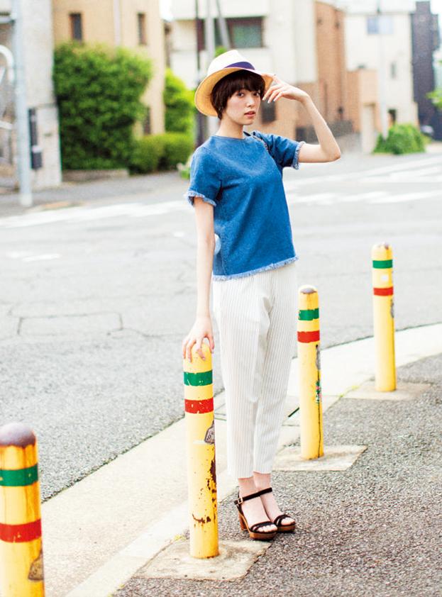 """7月は夏しかできない""""女っぽコーデ""""がしたい!(4) 今年らしくて女っぽいデニムって?_3"""