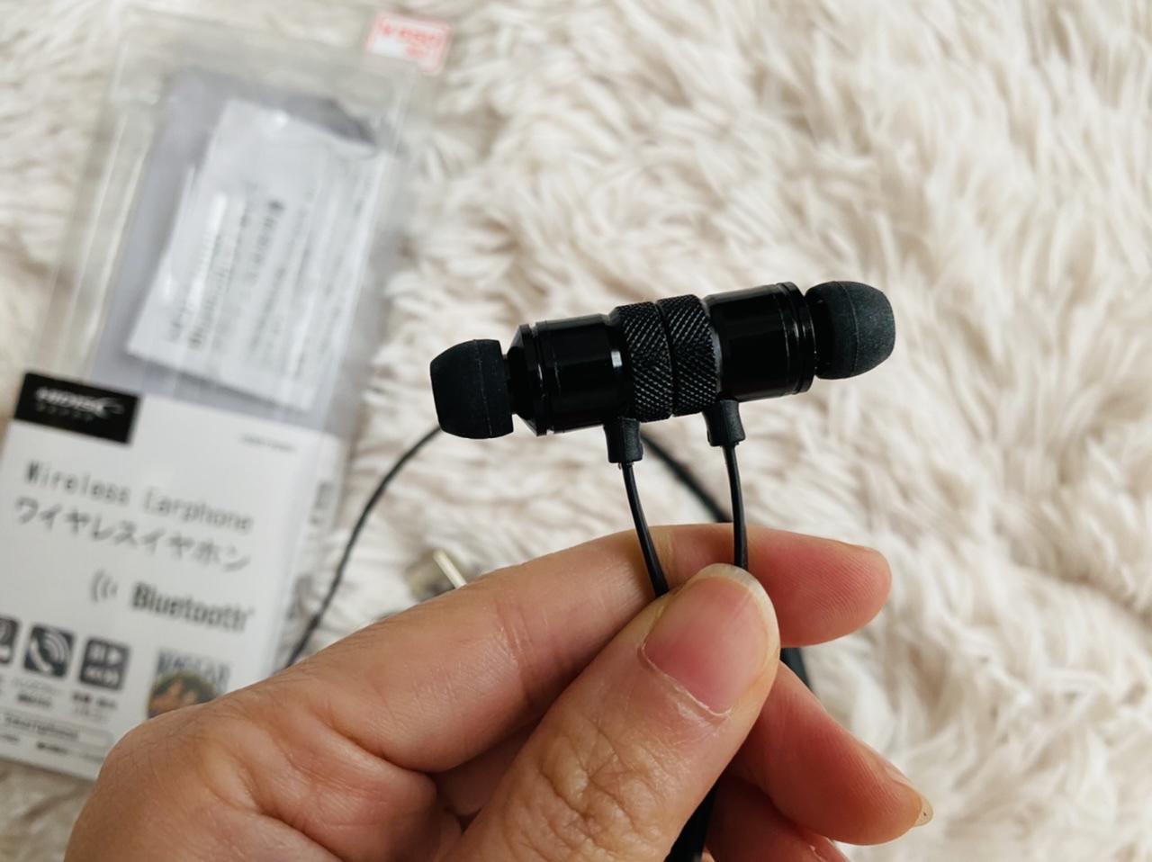 【ダイソー】衝撃の500円!?コスパ最強《Bluetoothワイヤレスイヤホン》が超優秀♡_4