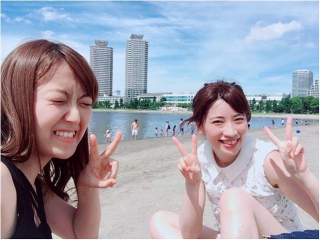都内で気軽に海が楽しめる!?夏休みは【#おだいばビーチ】へレッツゴー♪_1