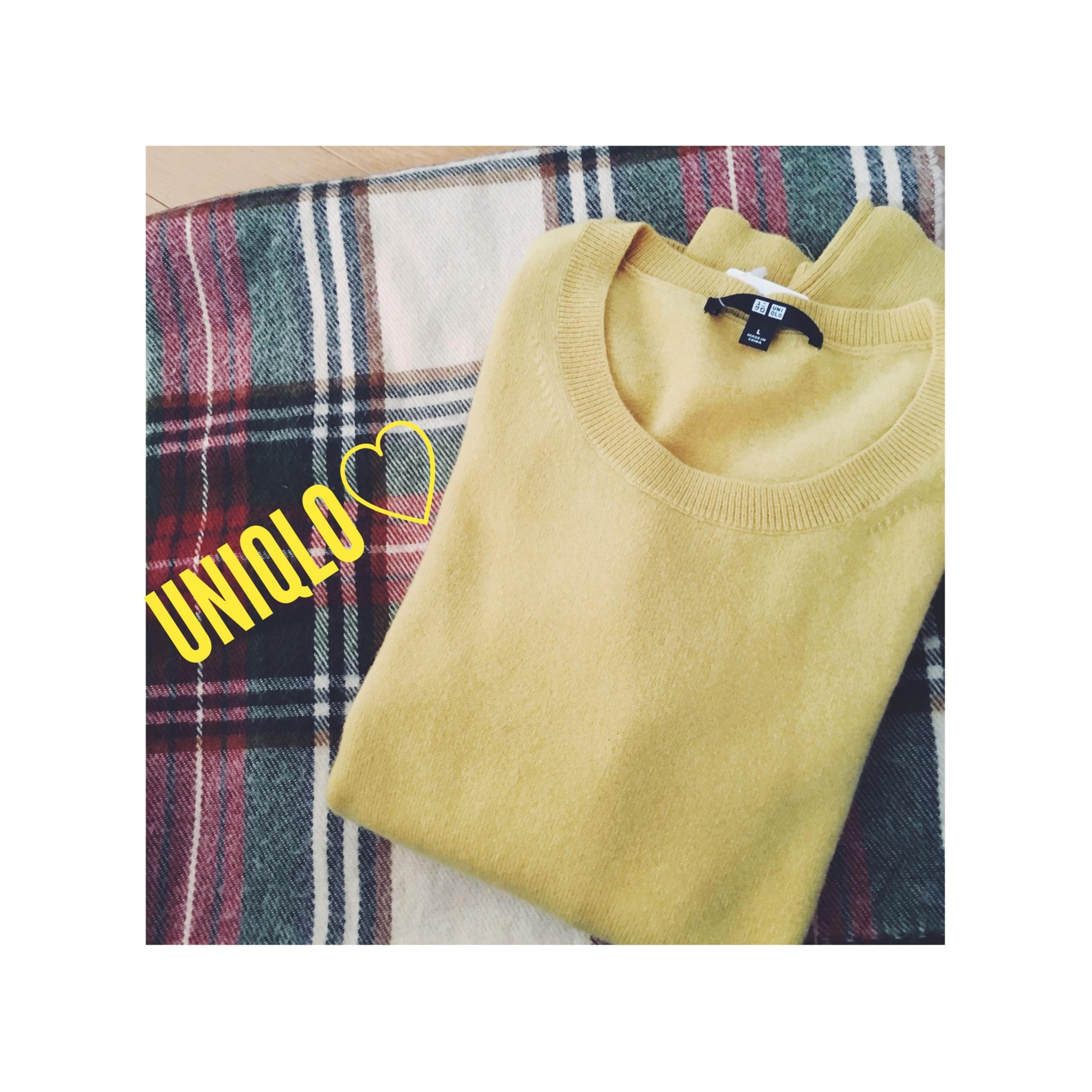 《11/2まで期間限定¥1,000オフ★》【UNIQLO】何枚でも欲しい!毎年大活躍のカシミヤセーターは新色イエローがおすすめです❤️_1