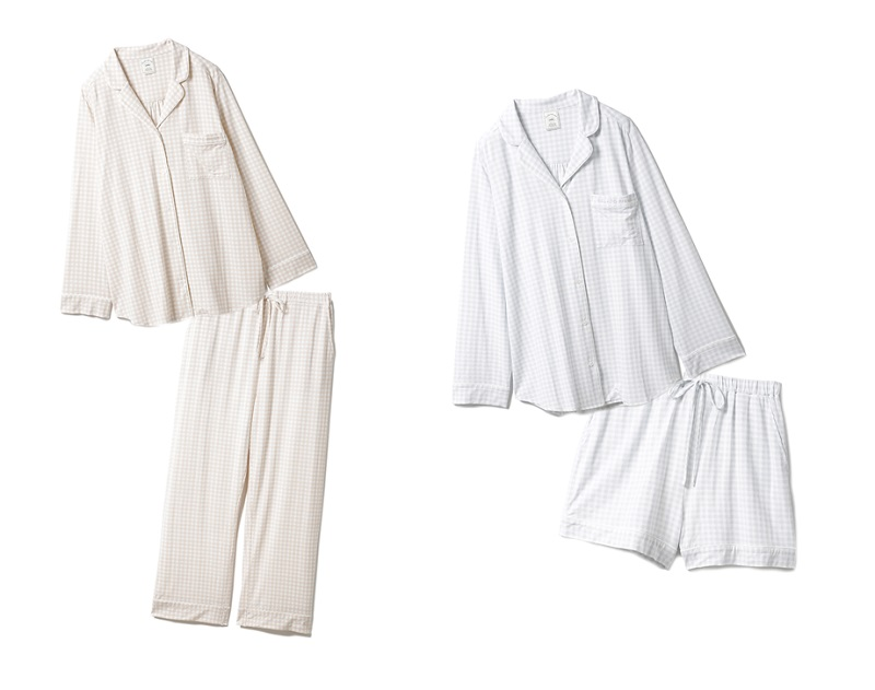 ジェラートピケ、本田翼を起用したホワイトデー企画を公開。ギンガムチェックパジャマ