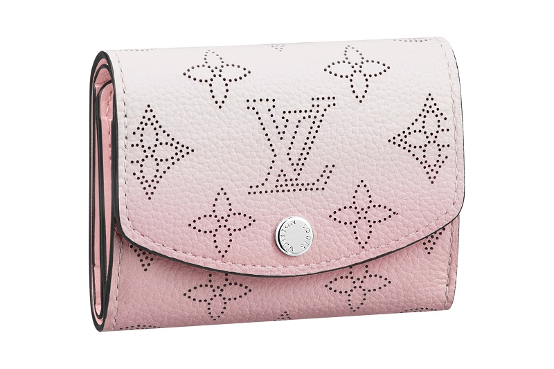ルイ・ヴィトン新作財布、ポルトフォイユ・イリスXSのピンク