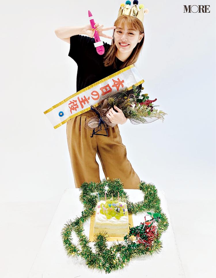 内田理央、28歳になりました! 誕生日をみんなでお祝い♡【モデルのオフショット】_1