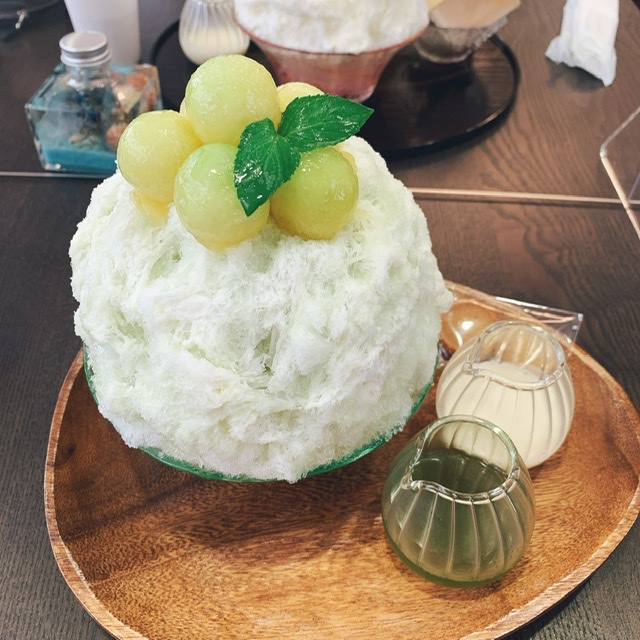 【ふわっふわ!】天然氷をつかった《かき氷》の美味しいお店♡_1