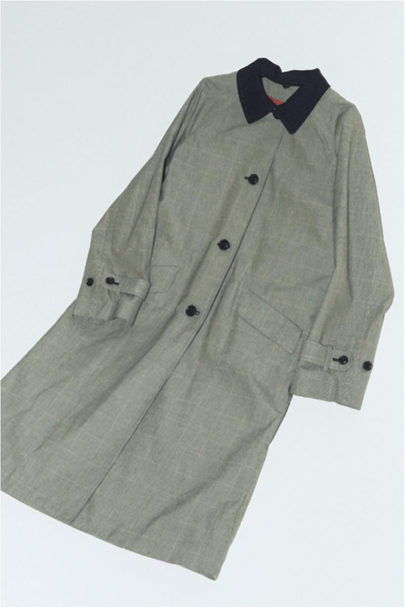 人気ブランドヒューマンウーマンのチェック柄コート