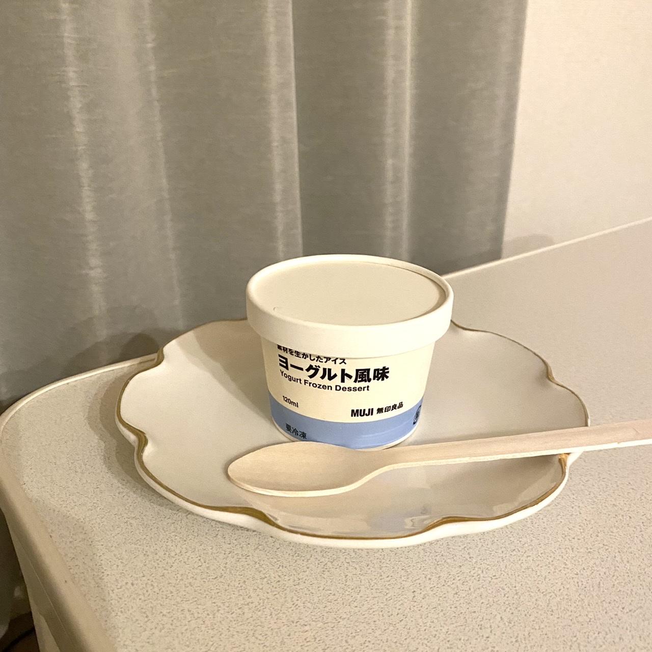 【無印良品】「素材を生かしたアイス」ヨーグルト風味を試してみました!_2