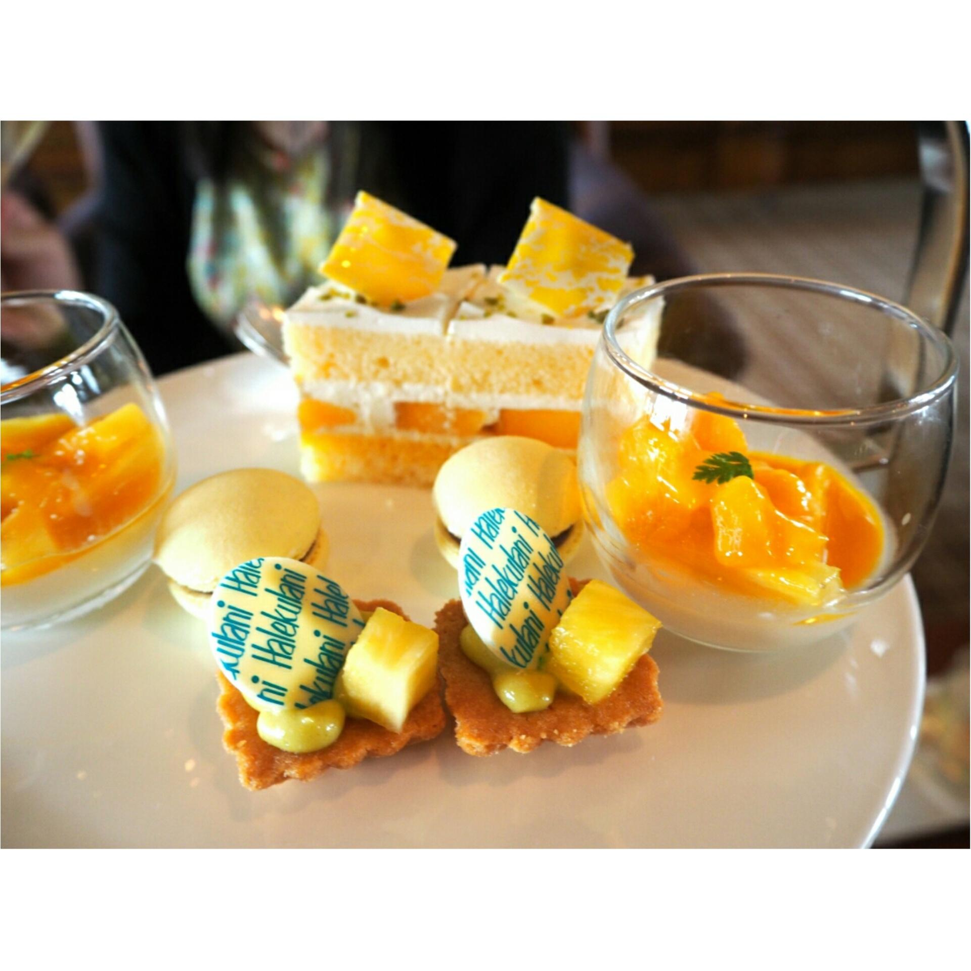 ◆日本最高峰のホテルで◆ハワイアンなアフタヌーンティー@帝国ホテル東京_5