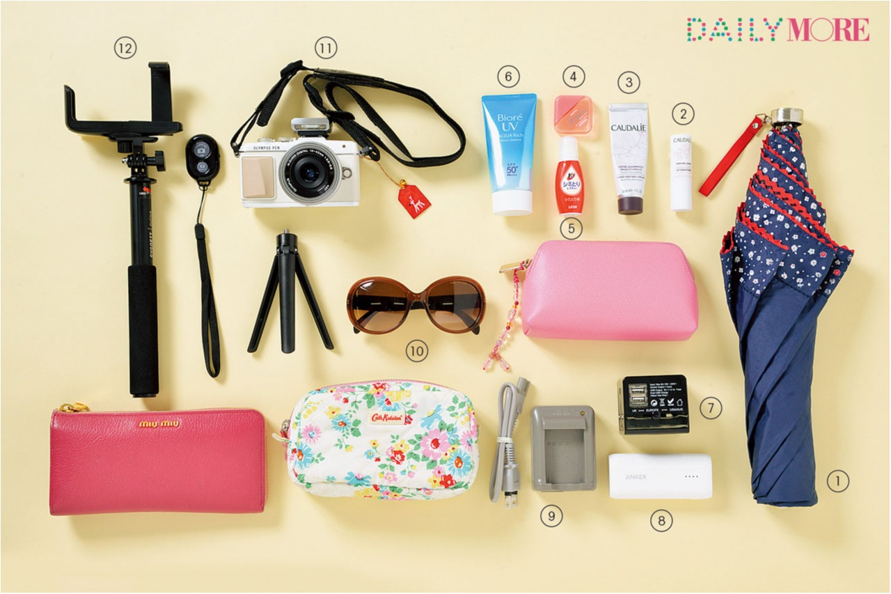 おしゃれに過ごす工夫いっぱい♡ 「夏の旅バッグの中身」、教えます♡ 【モアハピ部のトレンドプレゼン大会】_4
