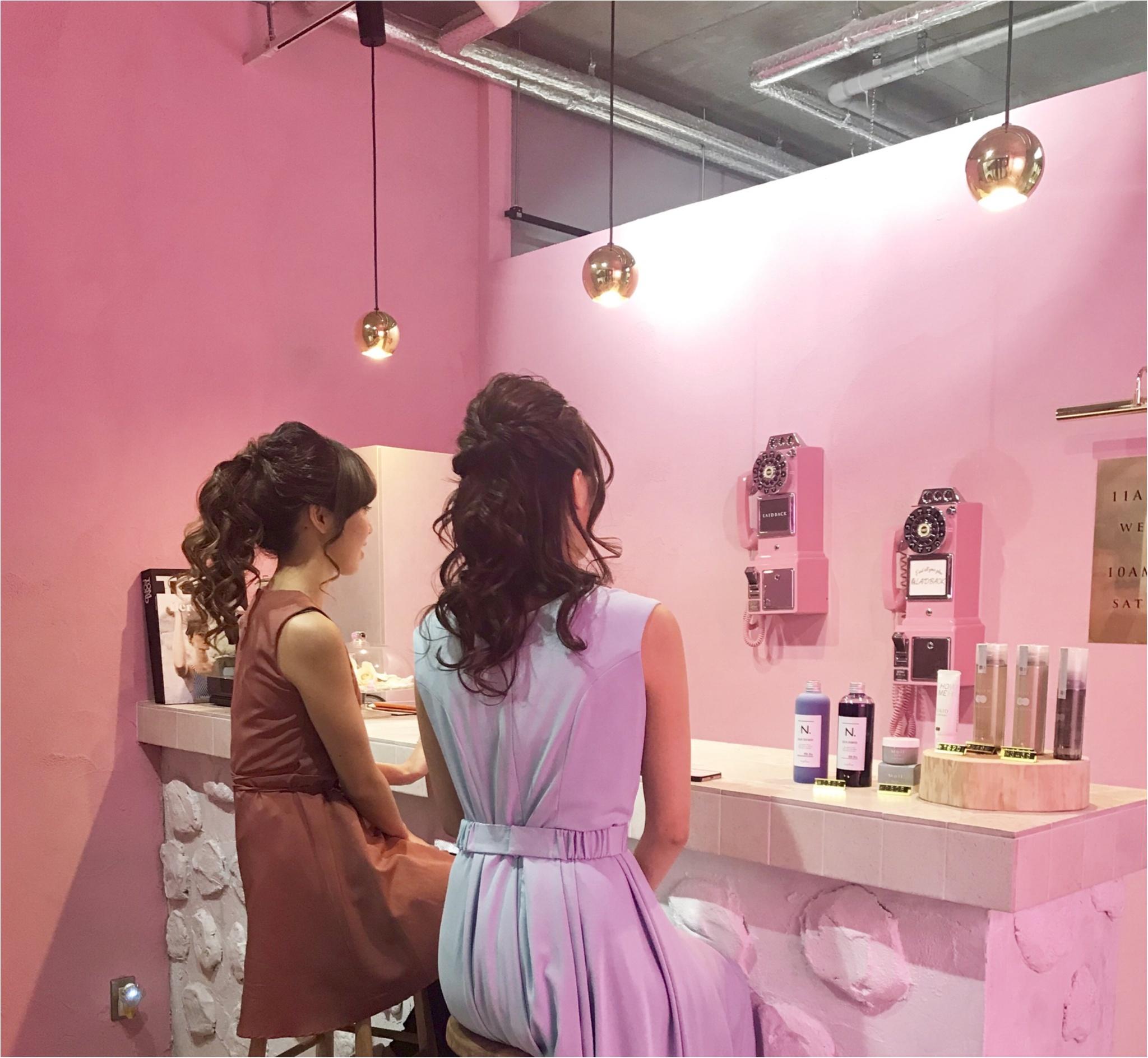 【Beauty】ヘアセットどこにしよう?代官山の美容院♡!なにもかもが可愛く仕上がる「LAID BACK 」_3