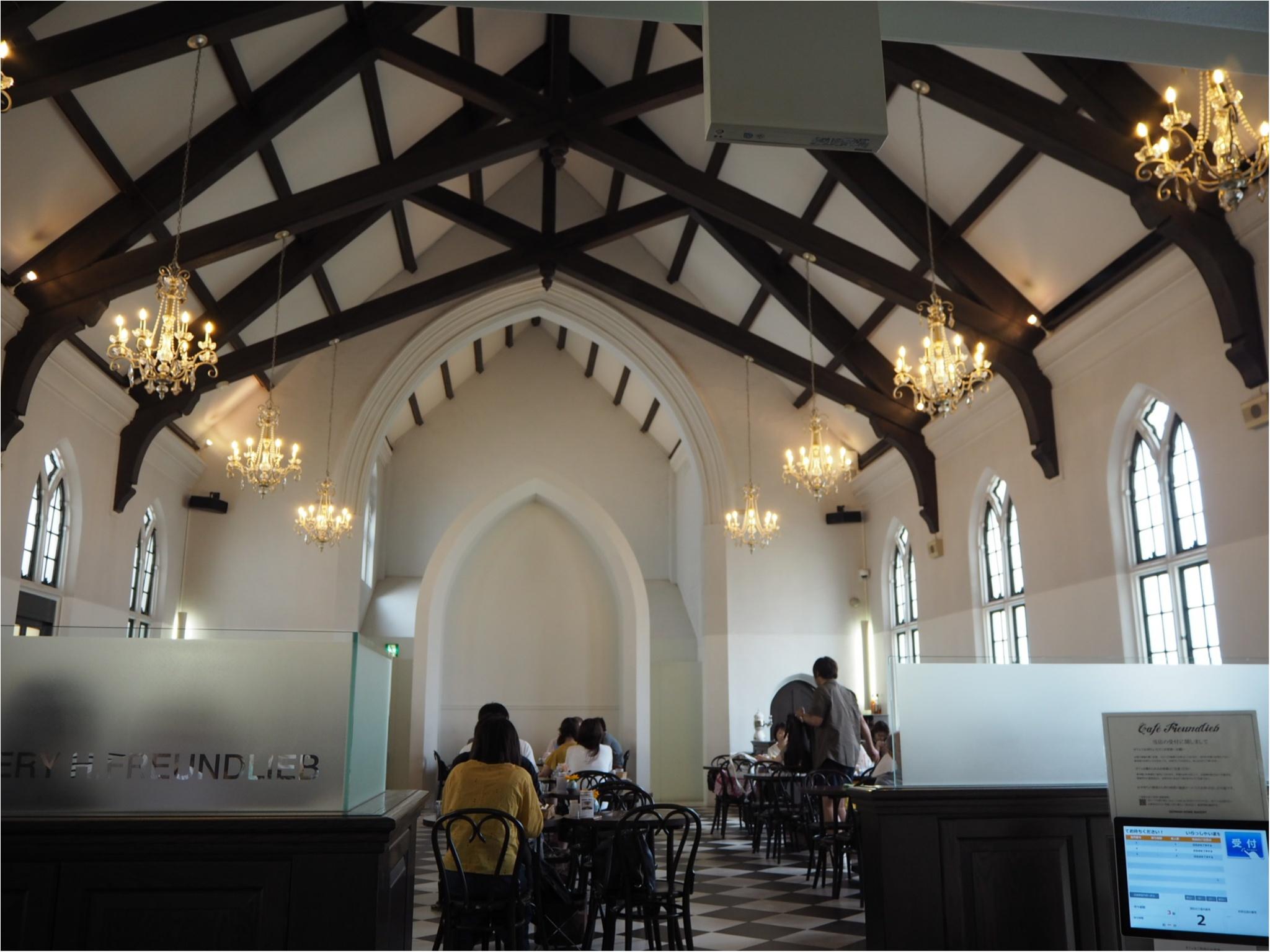 【神戸カフェ】教会をカフェに?!神秘的な雰囲気を味わおう✳︎_1