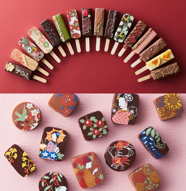 バレンタイン2021。人気ブランドのおすすめチョコ『ベルアメール 京都別邸』の「スティックショコラ」と「ショコラ雅」