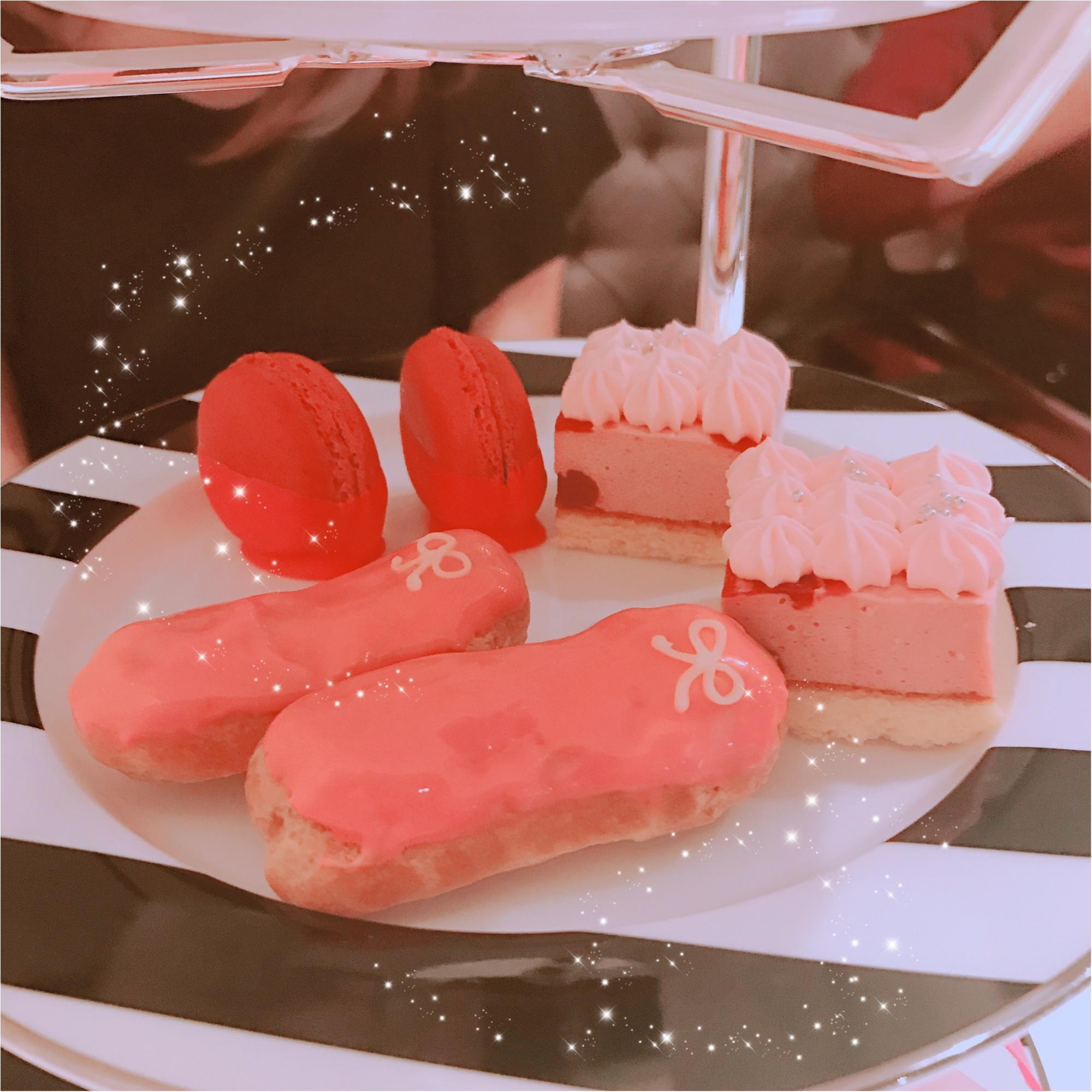 土日祝限定!完全予約制、ジンジャーガーデン青山のピンクアフタヌーンティーが可愛すぎる!_10