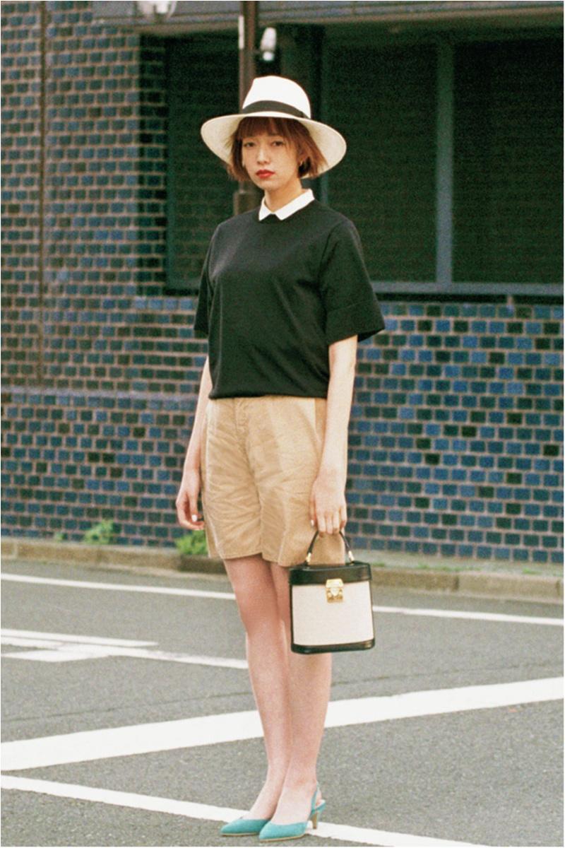 日焼け防止のマストアイテム 【帽子】の今どきコーデ15選 | ファッションコーデ_1_11