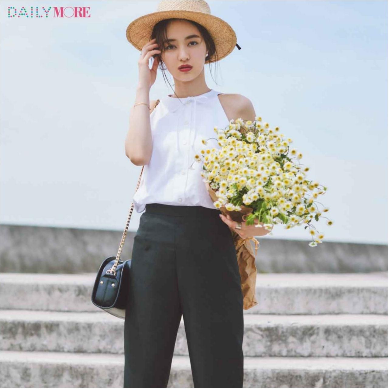 いつもの服が一気にフレンチムードに♪ お茶目な「カンカン帽」コーデまとめ♡_1_1