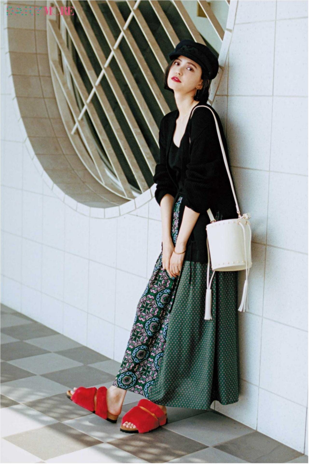 秋コーデを軽やか&華やかに♪ 「フレアスカート」の着こなしまとめ♡_1_6