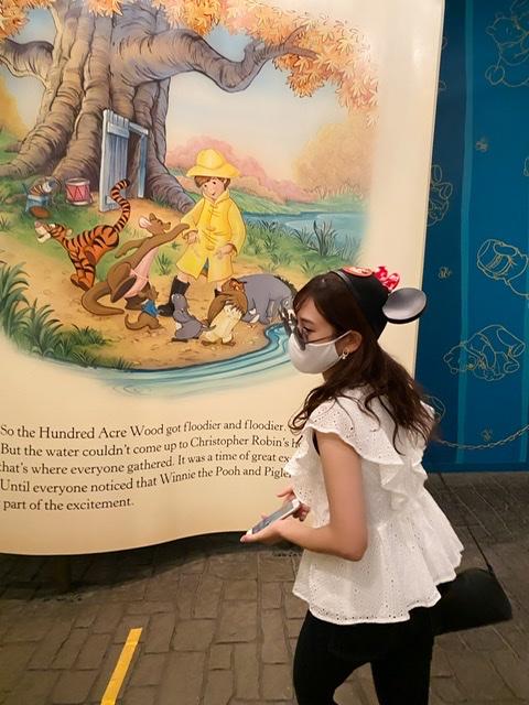 夢の国。「ディズニーランド」へ行って参りました。Disneyコーデ。今の混雑状況は?感染対策は?_3