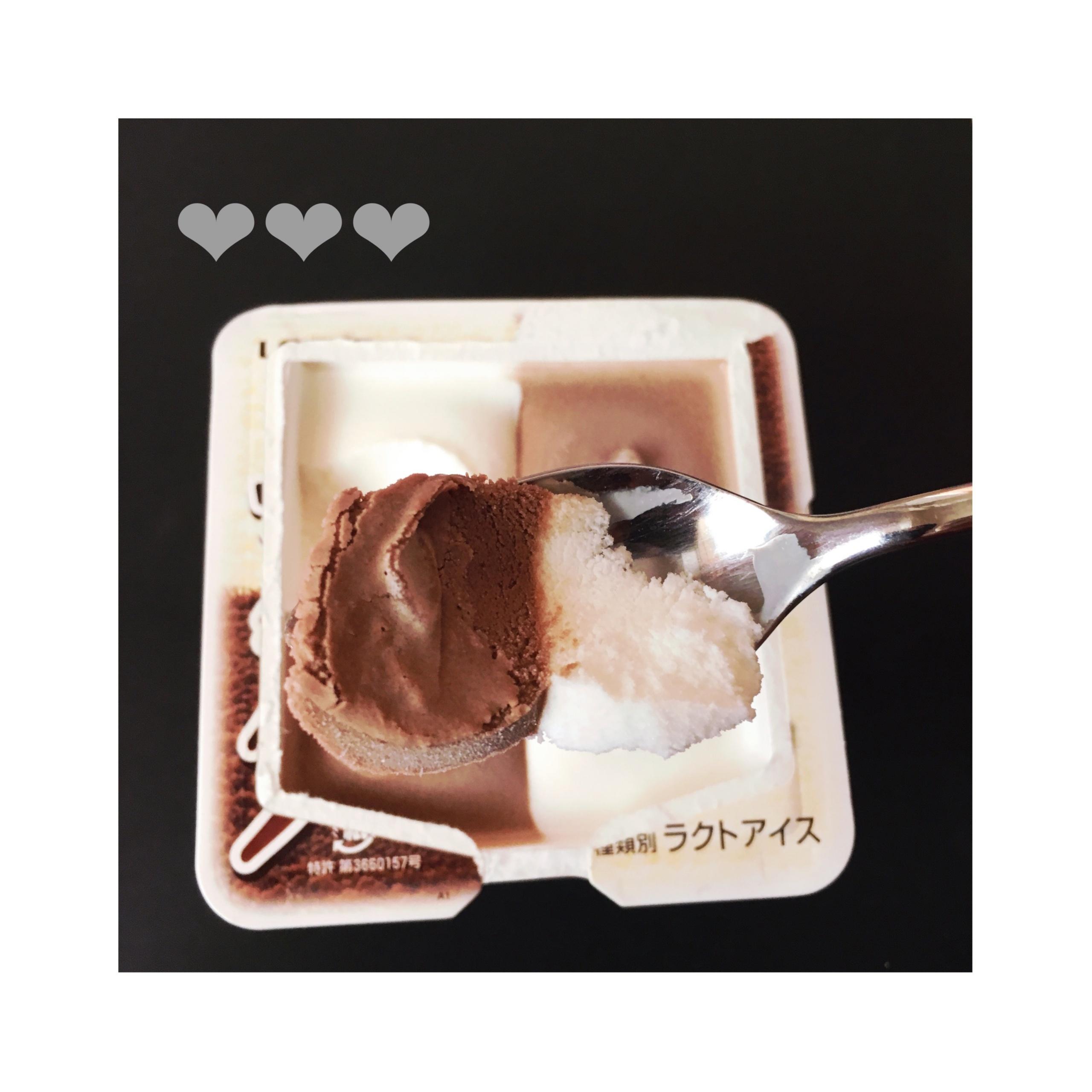 《本日9/25発売★》【コンビニアイス】ロッテ爽から新登場✨「BLACK&WHITE」❤️_3