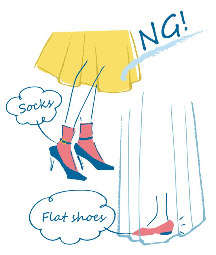 ぺたんこ靴はマナー違反!? お招ばれのファッションやヘア&メイク、マナーをチェックして自信をつけたい!_2