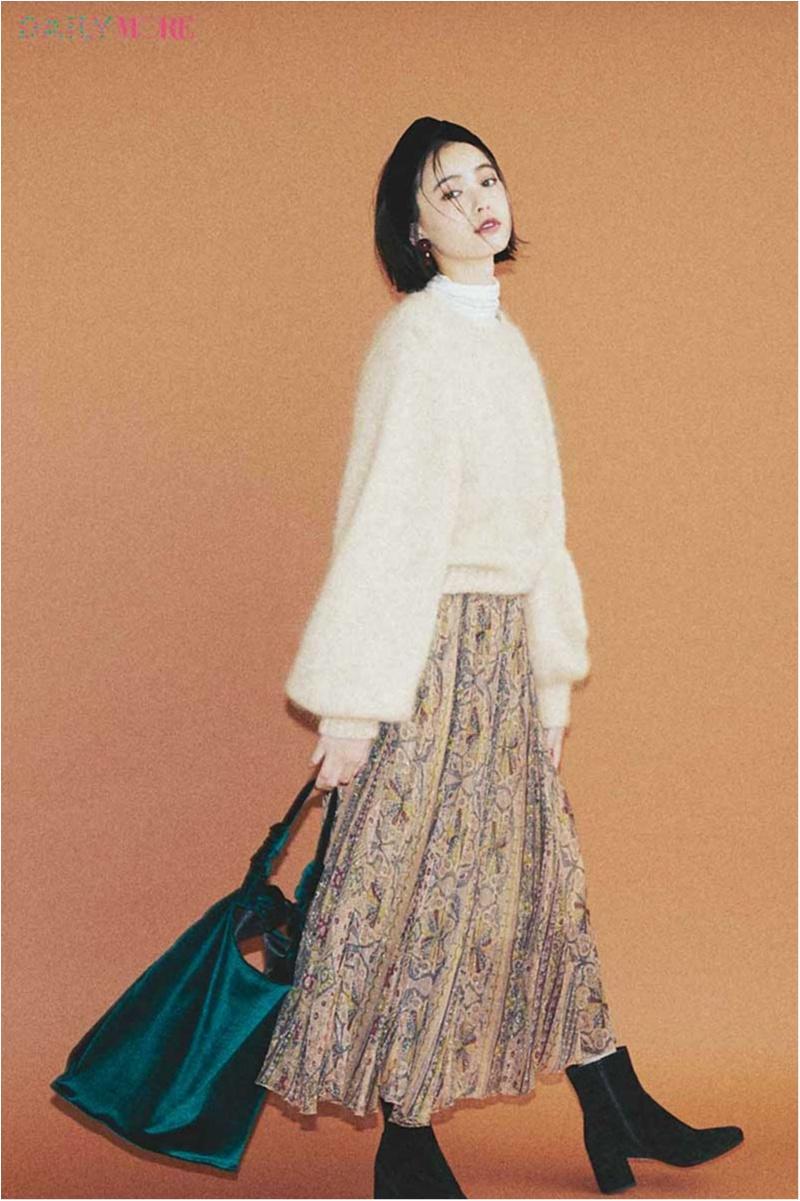 【今日のコーデ/比留川游】流行のグリーンはベージュと好相性。旬の色使いをマスターして即おしゃれ上手に!_1