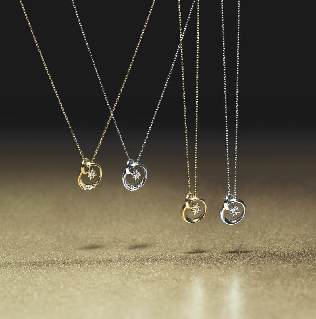 『スタージュエリー』のクリスマス限定アイテムは、ダイヤモンドが輝くネックレス☆_1